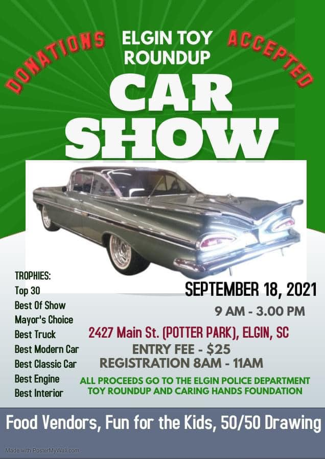 toy round up car show 2021
